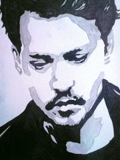 Johnny Depp por amandouPaint